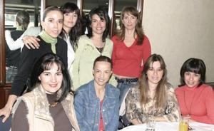 Veva Berlanga, Marcela Carrillo, Lulú Franco, Ana Anaya, Anabel Carrillo, Cony Lozano, Lorena Valdés y Ana Nava.