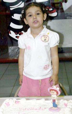 Por su tercer cumpleaños, Hiromi Ávila Elizondo disfrutó de una fiesta.