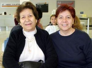 Ofelia de Enriquez regresa a Obregón y la despidió Patricia de Enríquez