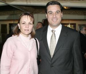Marcela de Sotomayor y Andrés Sotomayor.