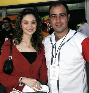 Fernanda Contreras y Alex Pérez.
