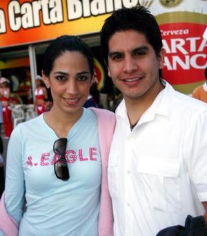 Luisa Díaz Durán y Daniel Trejo