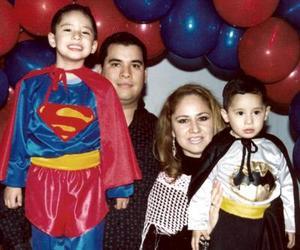 Jorge y Diego del Río de la Cruz cumplieron cinco y dos años de vida.