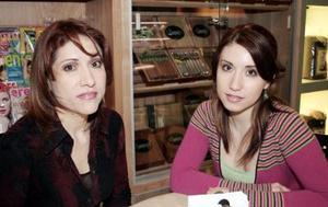 Patricia García y Martha Ochoa.