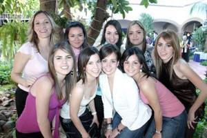 Nishme Darwich, Mague Monárrez, Laura Juárez, Sofía Garza, Mariana Portal, Rocío Vargas, Cecy Ávalos, Jéssica Trasfi y Sofía Pérez.