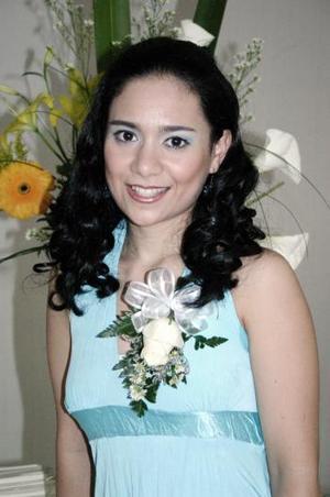 28 de marzo 2005  Charo Navarro Macías el día de su fiesta de despedida de soltera.