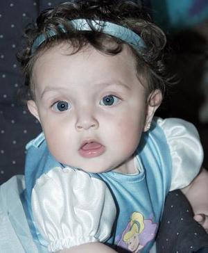 La pequeña Valeria Contreras.