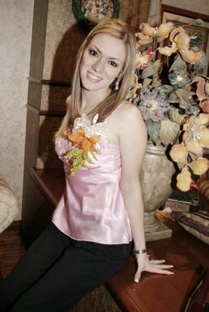 Odila Vargas Villarreal se casará con Faruk Fernández el 30 de abril próximo.