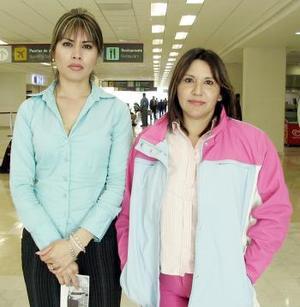 <b>29 de marzo </b><p> Gloria Alicia Cruz  y Valeria Campuzano viajaron a Acapulco.