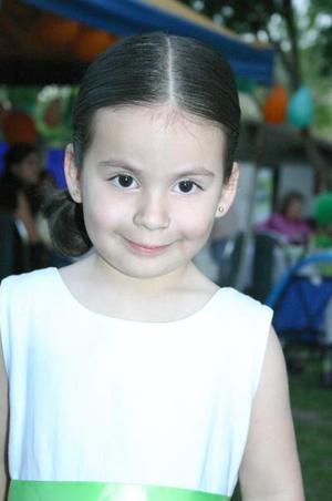 Ana Paula Guerra, captada en su fiesta de cumpleaños.