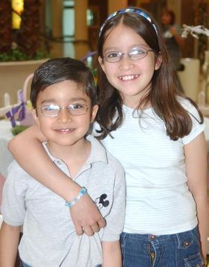 Carlos y Érika López.