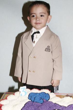 Sinhué Roberto fue festejado por su mamá Elizabeth Castellanos, con motivo de sus dos años de vida