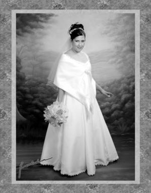 Dra. Miriam Rodríguez Garay, el día de su enlace matrimonial con el Lic. Alfredo Ochoa González.