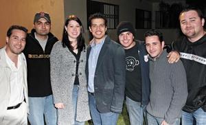 Luis Felipe Rodríguez, Trini Estrada, Jen Bengfurt, Fernando Castañeda, Joaquín Huerta, Roberto Sada y Aris Papadópulos