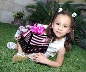 Luisa Aguilera López cumplió cinco años de vida.