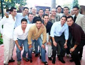 Israel Garza, Miguel Mena, Diego Lorda, Alfonso , Román , Mauricio , Jorge,  Alejandro, Miguel , Luis, Israel, Javier, Nando  y José del Bosque.