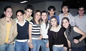 Pily, Marce, Susy, Marifer, Marianne, Maru, Luis, Sergio, Mario y Marcos