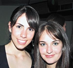 Daniela Alanís y Magaly Berumen