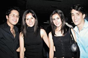 Bernardo, Victoria, Laura y Oscar