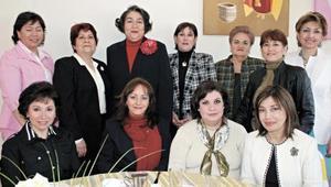 Aly de Martínez, Tely de Meráz, Martha de Ávalos, Lety de Ibarra, Mara de Ibarra, María Elena de López, Magdalena Ibarra, Ariane Ibarra, Cuquita Elías, Leticia L. de Ávalos, Marissa E. de Ibarra