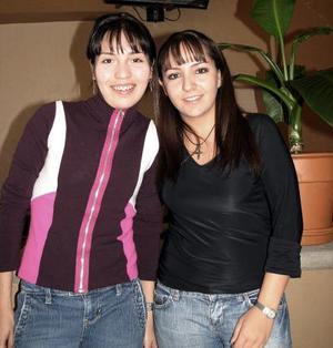 Ale Alvarado e Isabel García de la Peña.