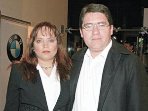 Adriana Aguilar Martínez de Cortes y Carlos Cortes Díaz