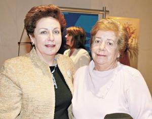 Elena Keisler de Anaya y Concepción C. de Keisler