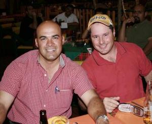 Jorge Herrera y Ernesto Segura.