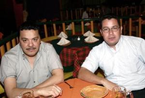 Jorge Neri y Salvador Nuñez.