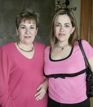 <b>02 de abril</b><p>  María Guadalupe Padilla y Haidy Saracho.