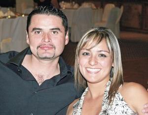 Ricardo Mendoza y Paulette Seceñas