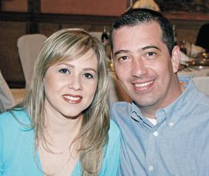 Ana Elena Moya y Alejandro Treviño