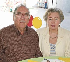 Mario Villarreal Roiz y Aída de la Garza de Villarreal