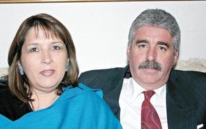 Mónica y Cuahutémoc Félix