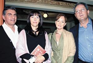 Luis Tueme, Gabriela R. de Tueme, José Luis Ramos Salas y Lorena N. de Ramos