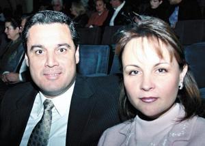 Andrés Sotomayor Reyes y Marcela Aguilar de Sotomayor