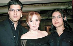 David González, Brenda Noyola y Jessica González