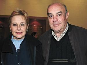 Judith Gurza de Tavera y Gerardo Tavera Madero