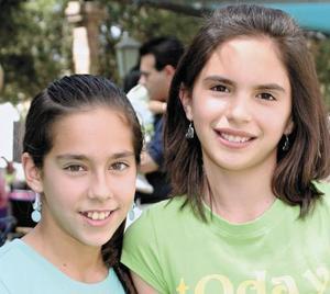 Jessica Guerra y Andrea Cuartero