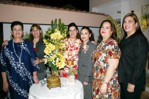 Cony Escobar Aguado, en su última despedida de soltera.