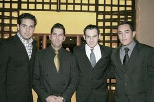 d Diego Arroyo, Javier Martínez, Carlos Díaz y Rodrigo Barbosa.