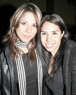 Marcela Trejo y Cynthia Muñoz
