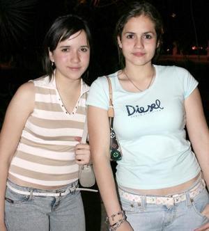 María Valdez y Mariana Murguía.
