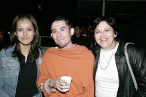 Patricia Ortega, Israel Herrera y Elsa Reyes