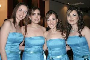 <b>03 de abril </b><p> Susana Lerma, Jackie Gómez, Marysol y Michelle Taboada.