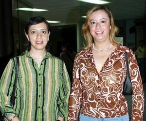 Laura y Martha Lucía Aparicio.