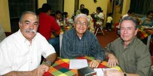 José Dibildox, Rubén Samano y Roberto Rodríguez.