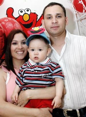 Juan Alberto Rodríguez Díaz disfrutó de una fiesta de cumpleaños que le organizaron sus papás, los Sres. Dulce Díaz de Rodríguez y Alberto Rodríguez Zamarrón