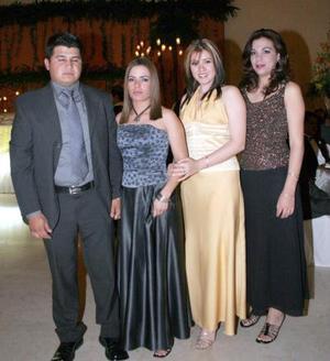Juan Carlos Barraza, Rebeca Reyes, Yéssica Cisneros e Ileana Correa.