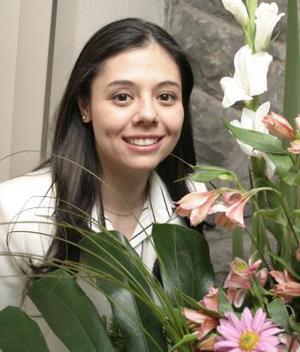 Alejandra Sánchez Moctezuma contraerá nupcias el próximo 15 de abril, con Sergio Urzua Hernández.